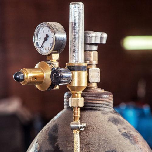 Prelevarea gazului